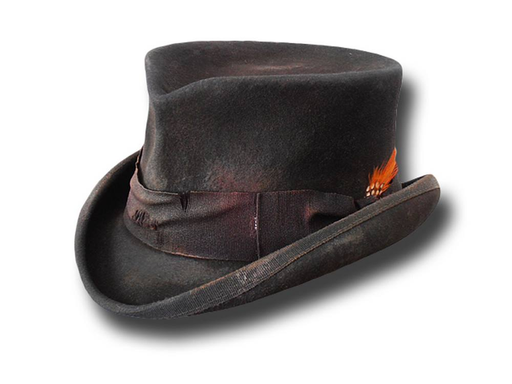 Chapeau demi-cylindre Western Stagecoach Dusty