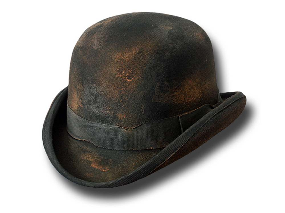 Western gunman Butler Dusty bowler hat Open Ra