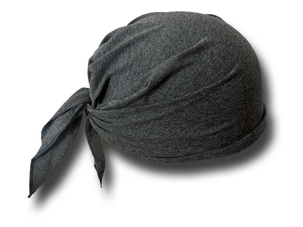 Summer cap bandana rollable Kerstin Grey