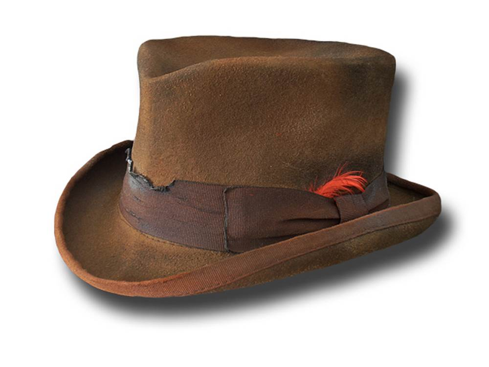 Western half top hat Stagecoach Dusty light br