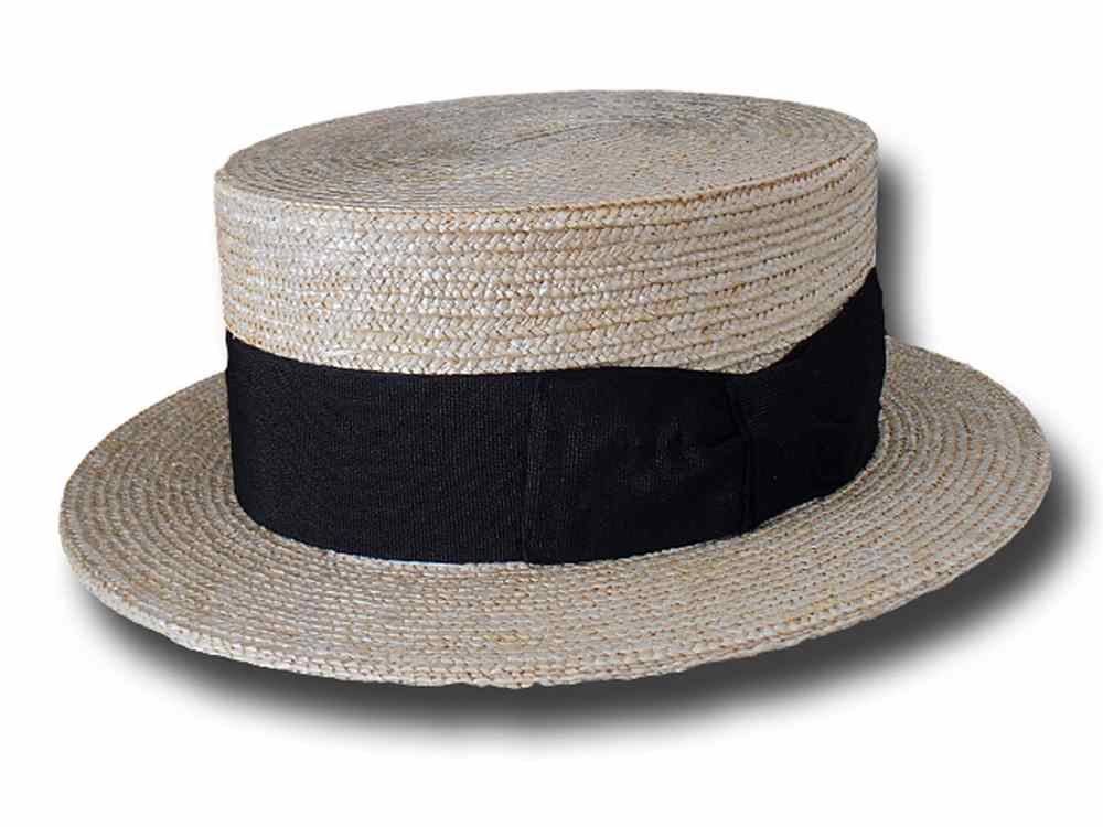 Melegari Boater straw hat