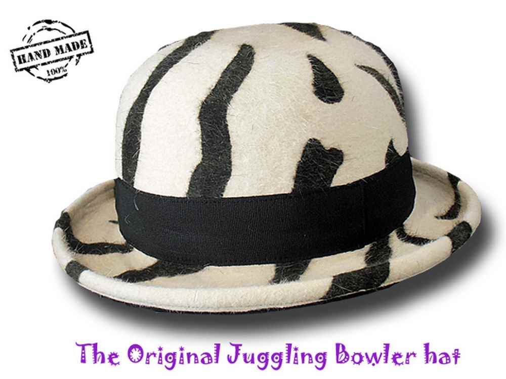 The Original Juggling Bowler Hat  Professional