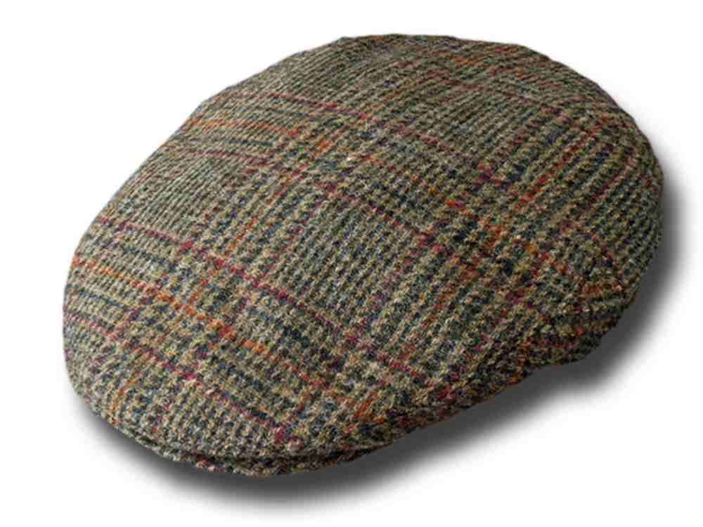 Chapeau Irlandaise Tweed Flat County Wicklow J