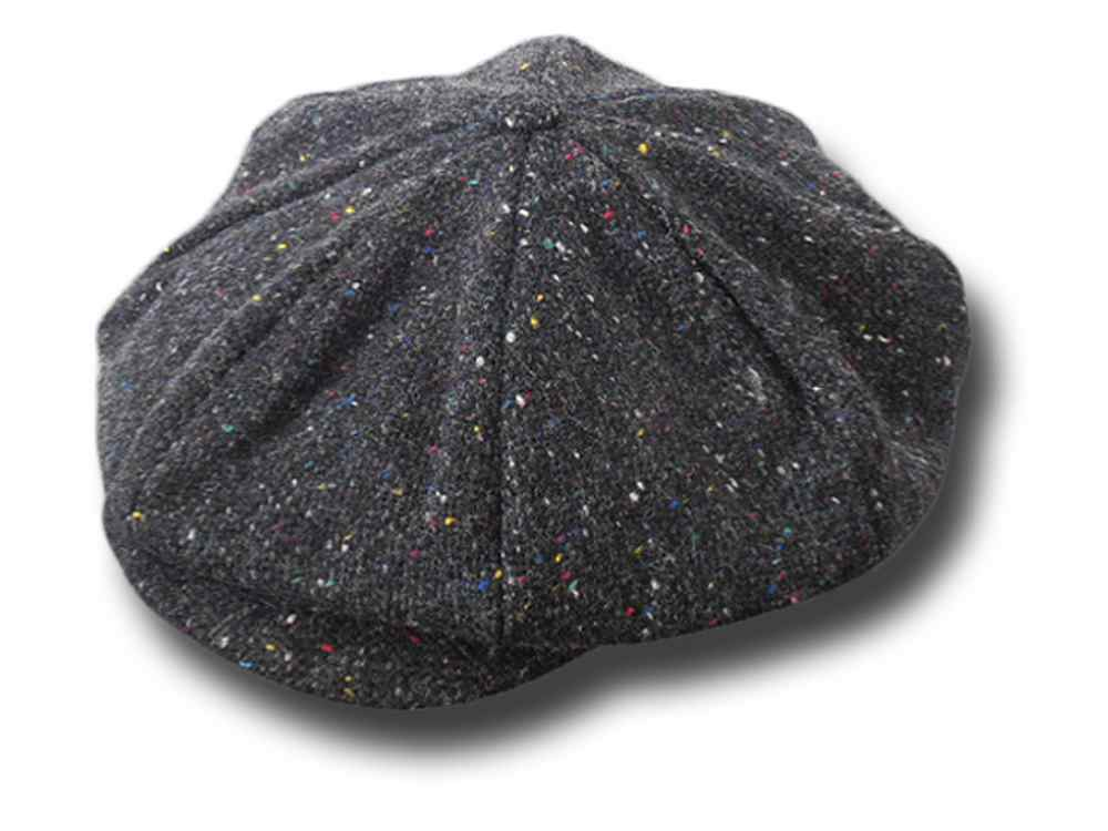 Casquette Gatsby Tweed  Connery Hanna Hats Gri
