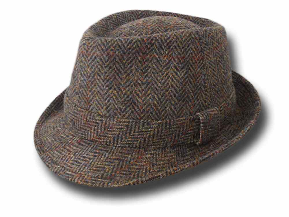 Trilby tweed Hat brim 4.5 Peter James