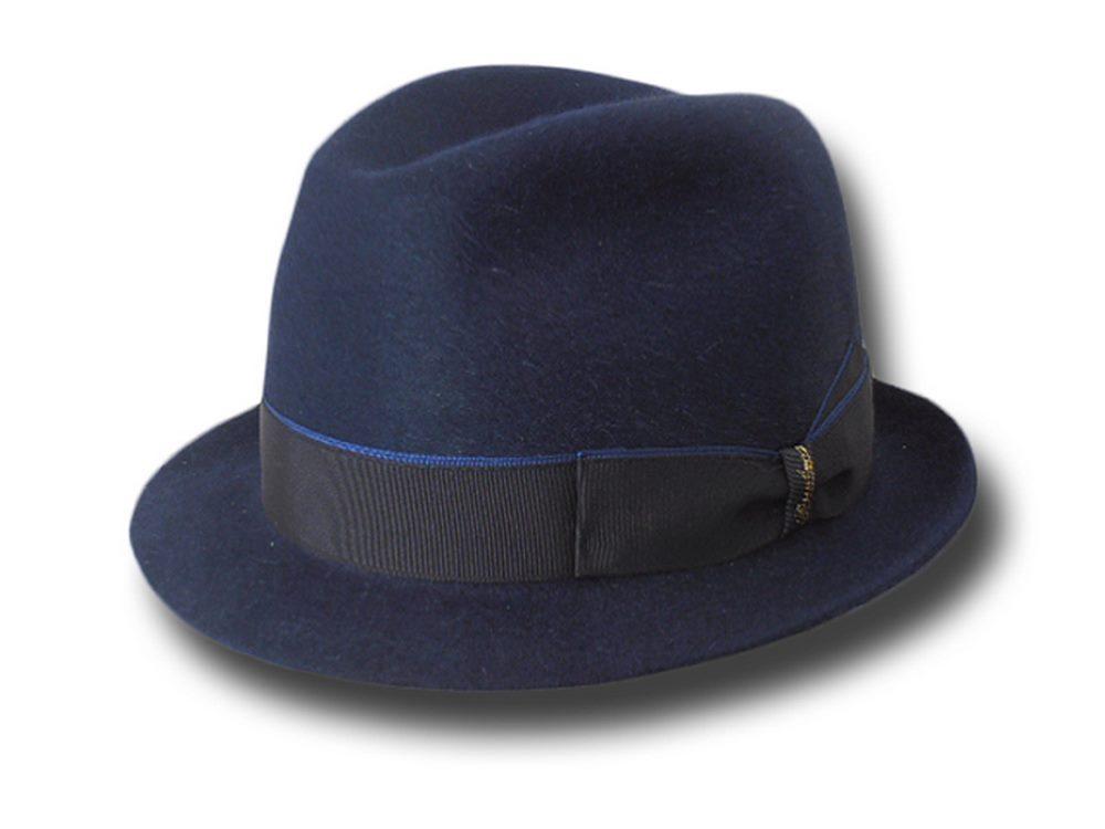 Borsalino Cappello trilby jazz ala 4 3471660fc3d0