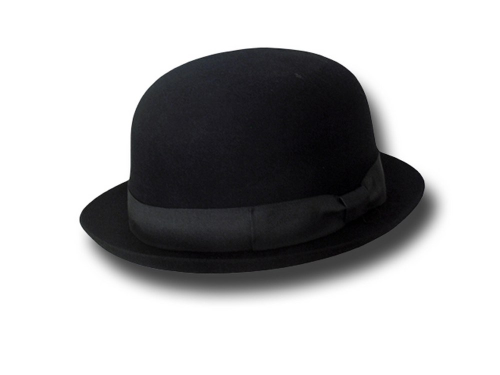Bowler hat Latin lower soft fur felt