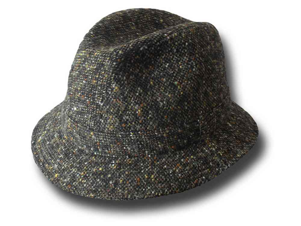 Trilby tweed Hat brim 4.5 Inspector Clouseau