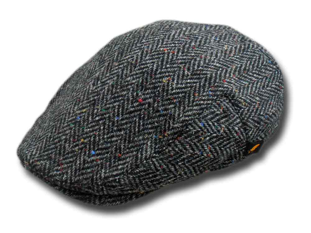 Berretto piatto Dubliner Herringbone tweed Hat