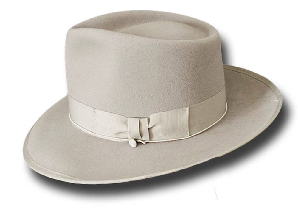 Cappello Fedora Johnny Depp Top Quality Beige