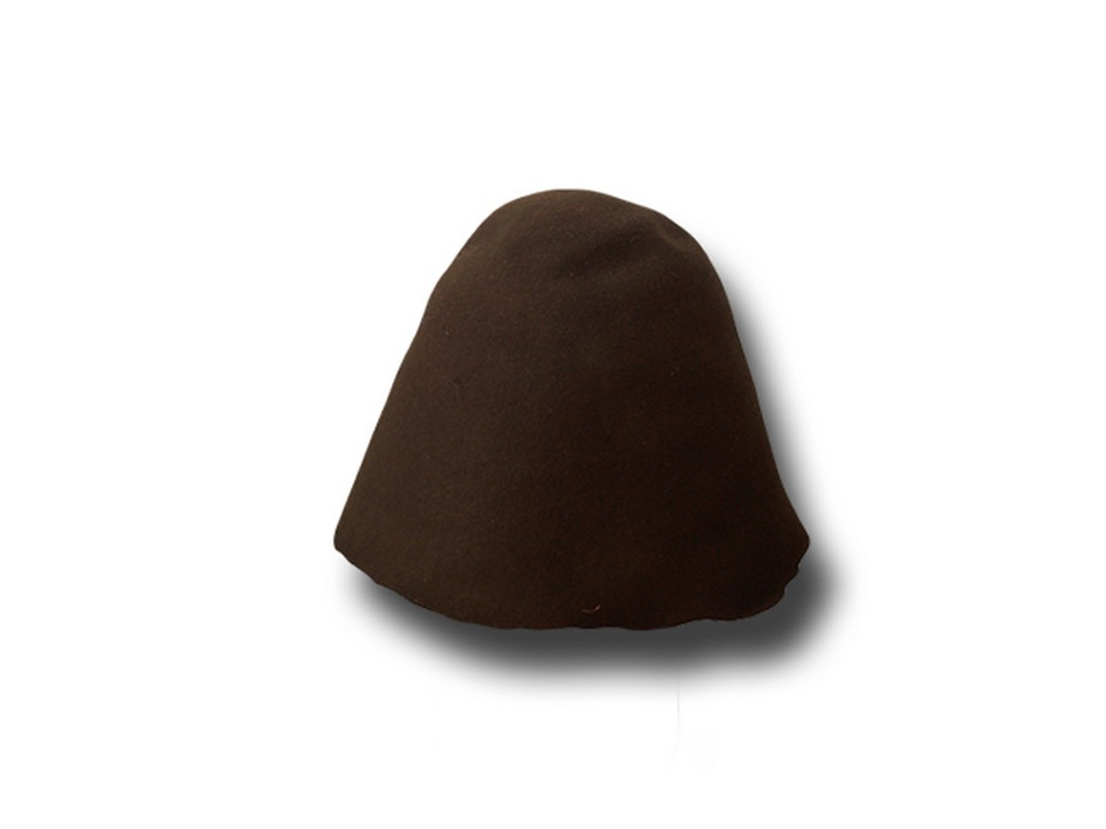 Hat body cone wool felt 90/100 gr.