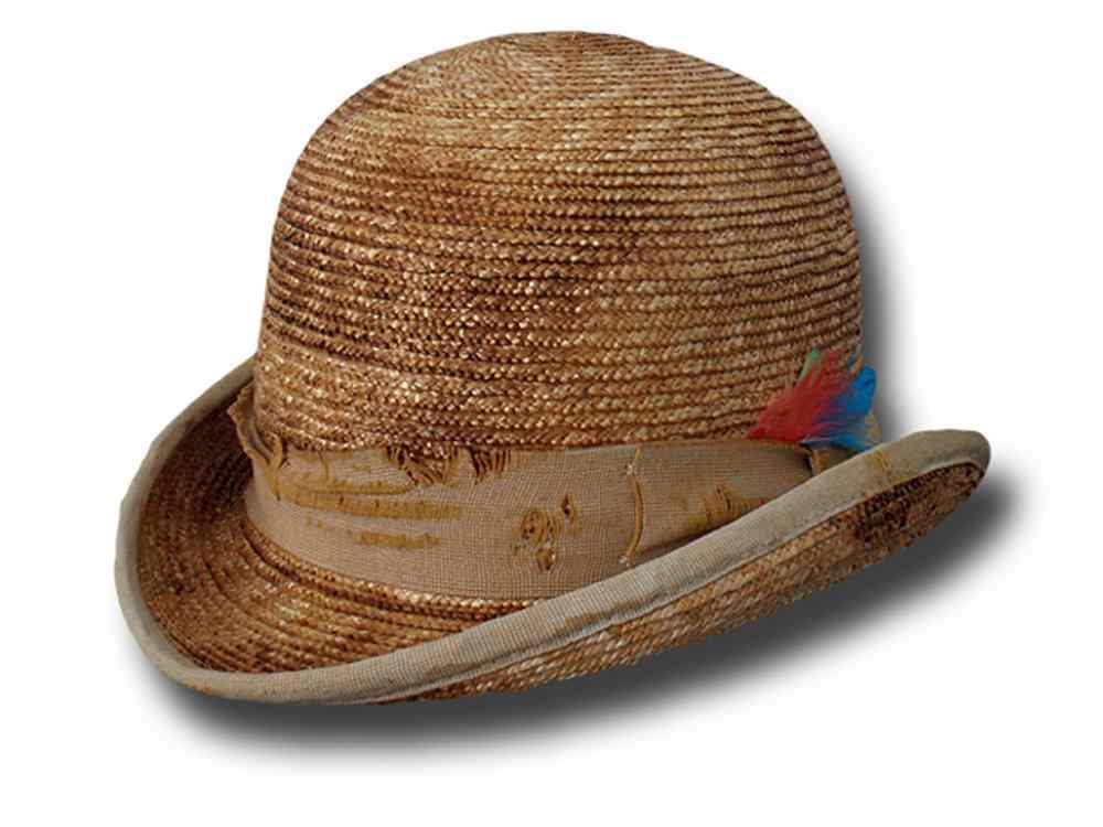 Cappello a Bombetta Western Aged kaki  Bombetta-Dandy-Clochard-Kaki ... cd29b35dfe58