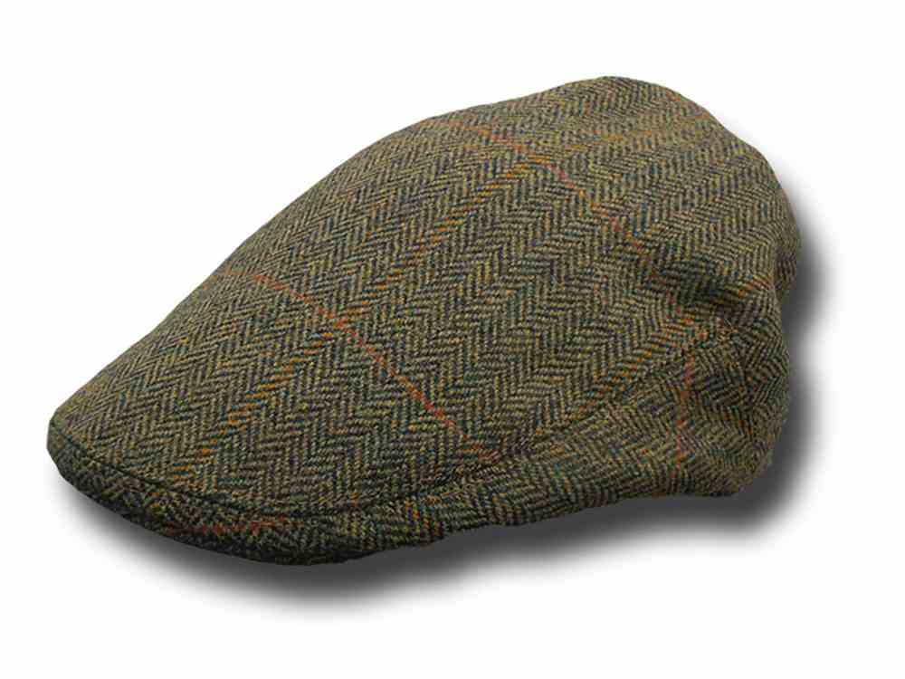 Berretto tweed Inglese Lawrence & Foster