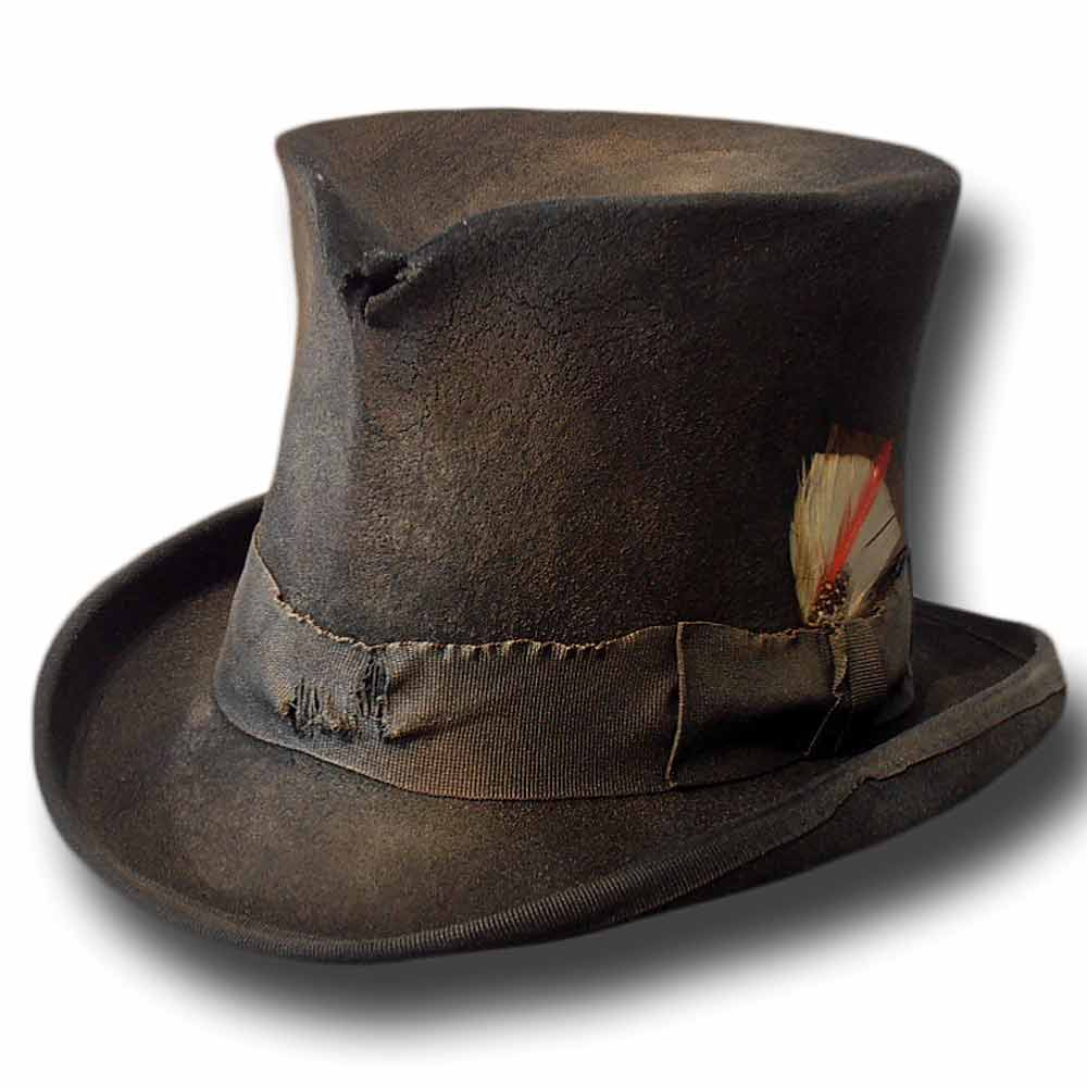 Dusty Western top hat Black 2