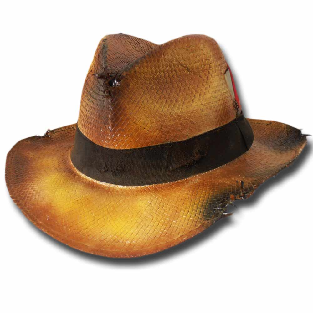 Cappello pseudo panama fedora Dandy Dusty hat