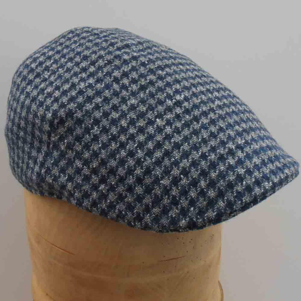 Failsworth Cappelli tweed berretto da baseball-CHECK Verde