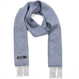 John Hanly Merino wool and cashmere scarf 01