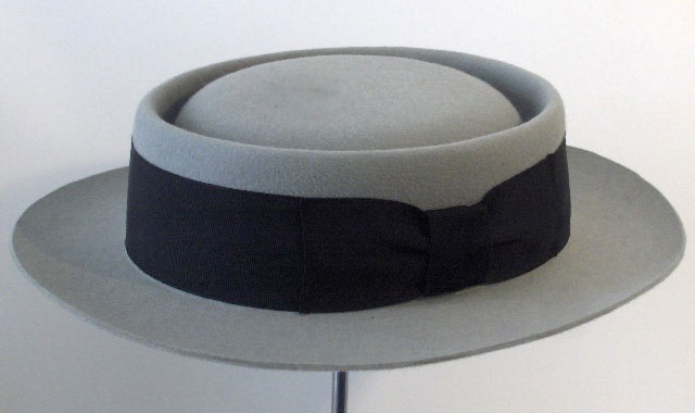 Pork Pie Hat Buster Keaton Flat Hat