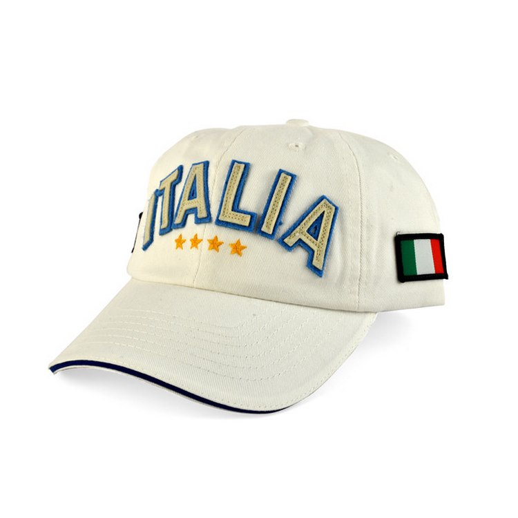 Cotton baseball cap Italia