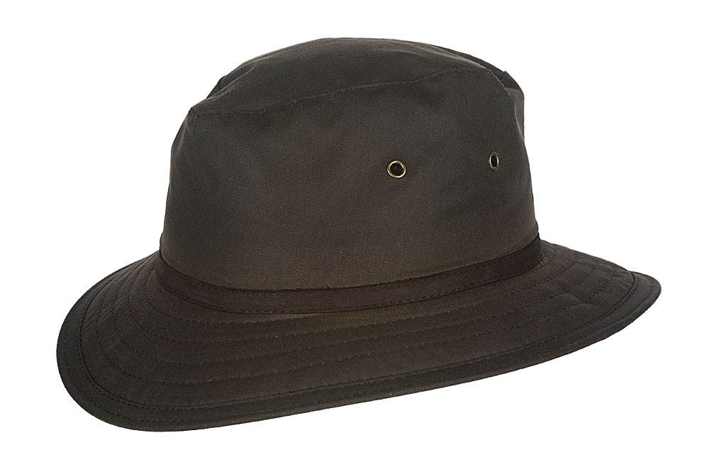 Hatland Cappello New Zealand Waxed Cotton hat
