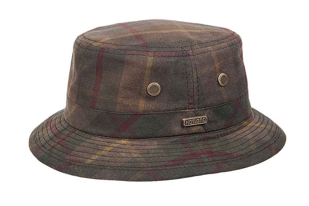 Hatland Cappello Pennfield Oiled Cotton tartan