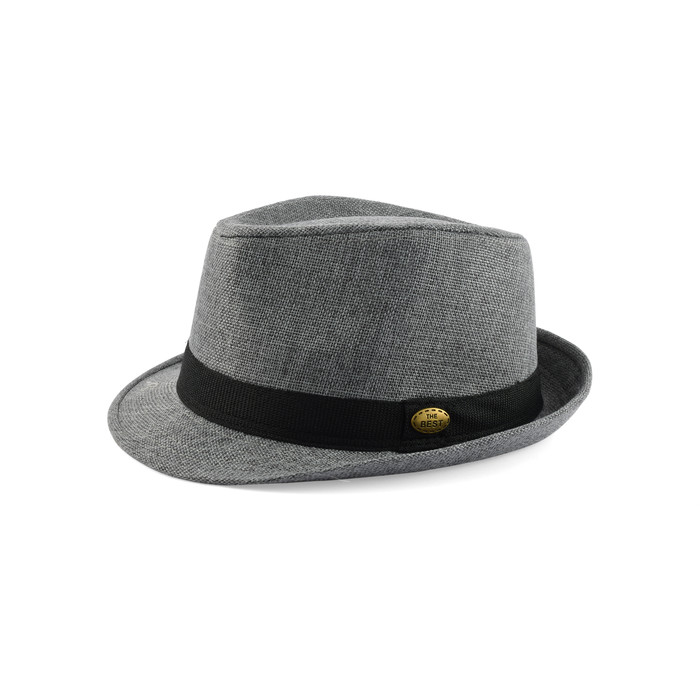 Trilby hat polyester 4