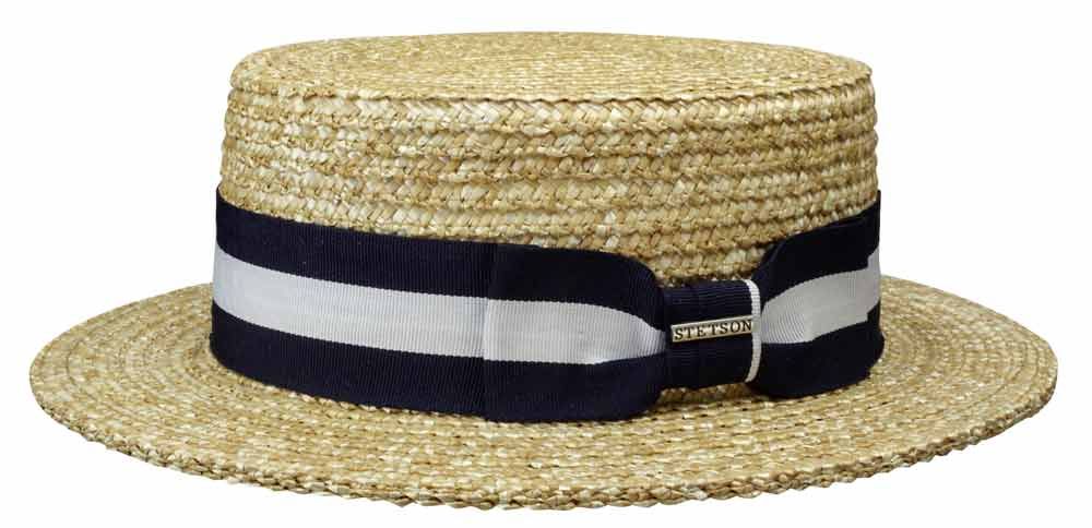 Stetson Boater hat Amsterdam Wheat