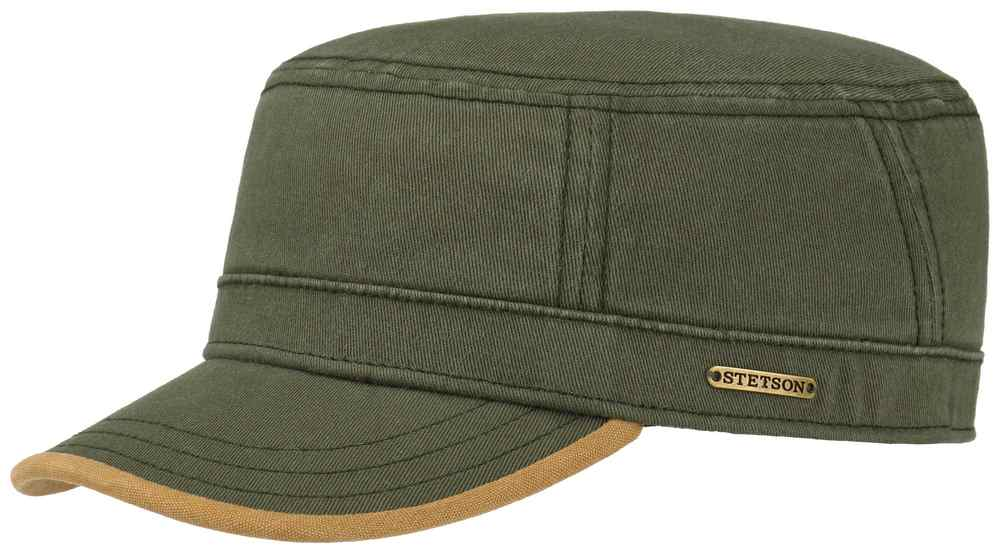 Stetson cotton Army Flex Two Tone cap