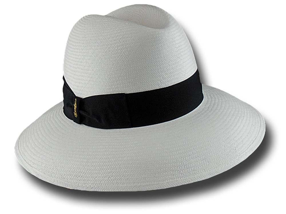 Borsalino Cappello donna 231979 fedora Panama Quito 9 cm edc0a09f1e23