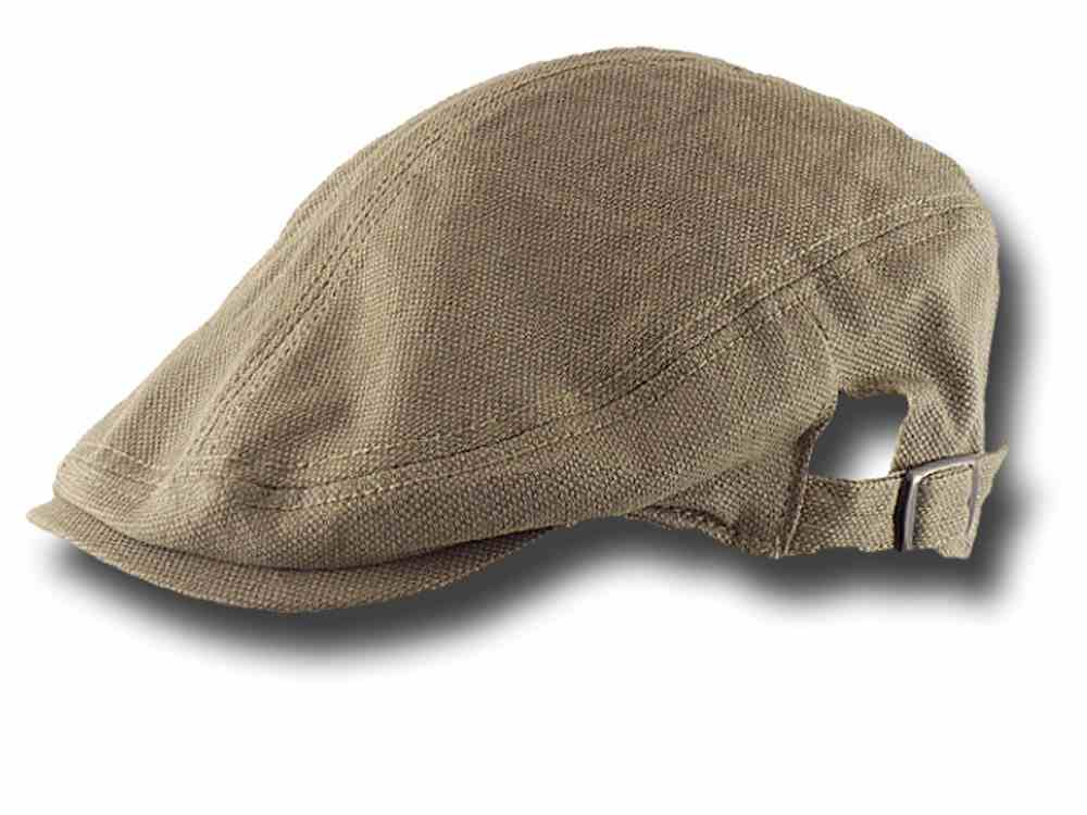 Flat cap summer cotton Clarence Beige