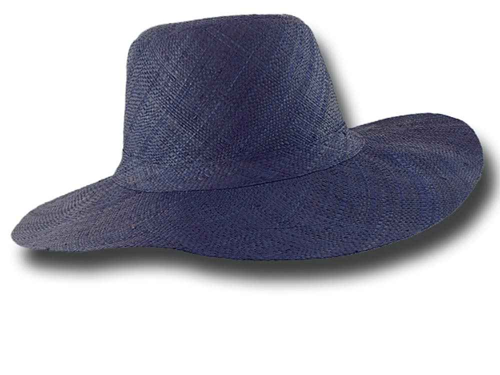 fold straw hat medium brim Monaco 07