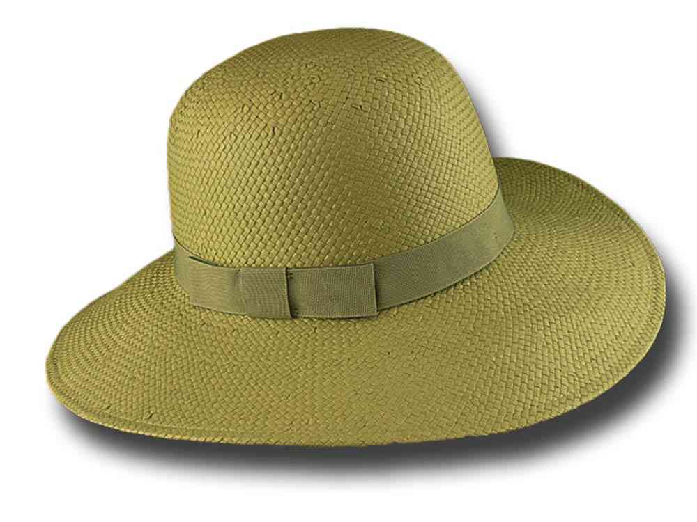 Melegari summer women Hat Natalie Light green