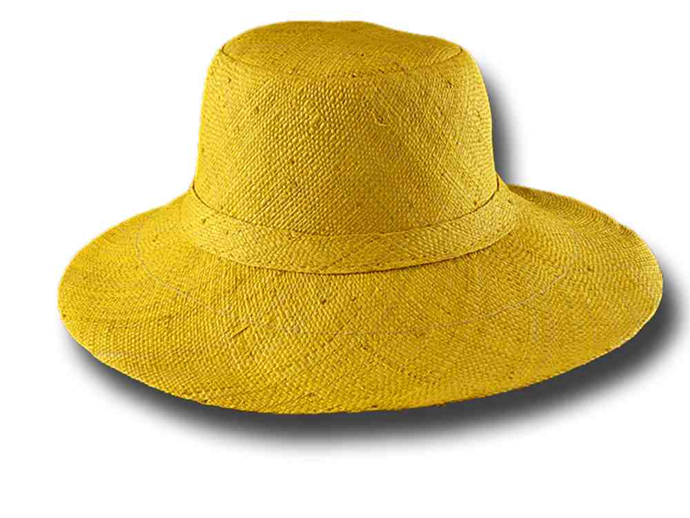 fold straw hat medium brim Monaco 05