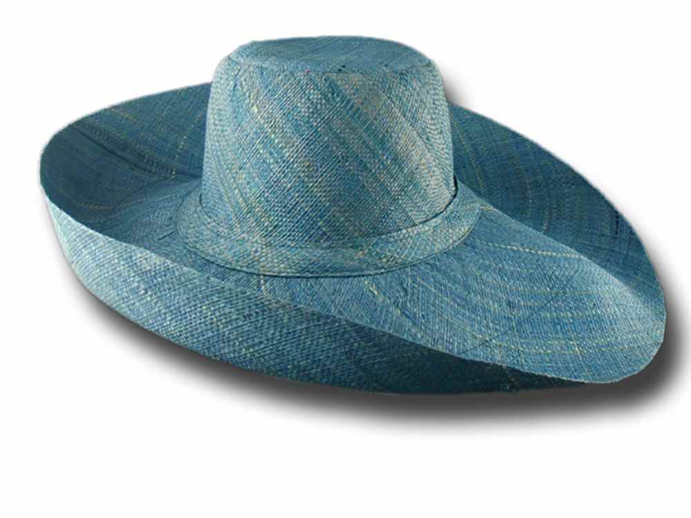 fold straw hat brim large Antibes 04