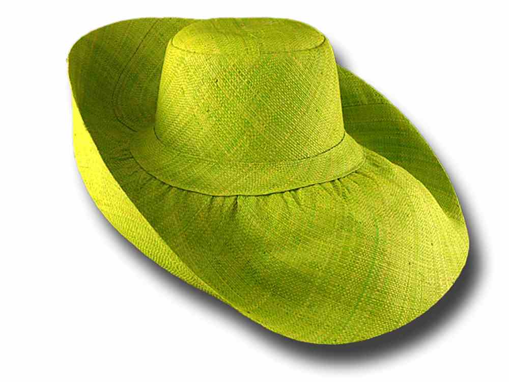 fold straw hat brim large Antibes 06