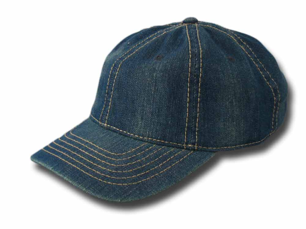 Jeans cotton baseball cap