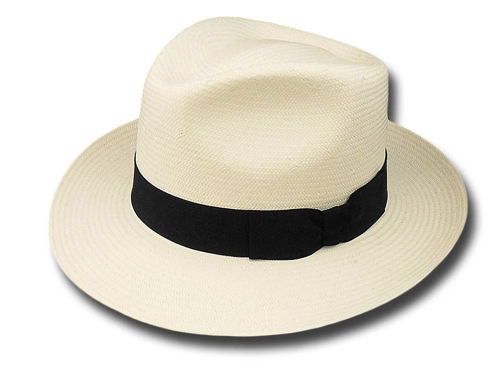 Cappello Bogart pseudo Panama extra ala 6.5 cm 2fa002e3f072