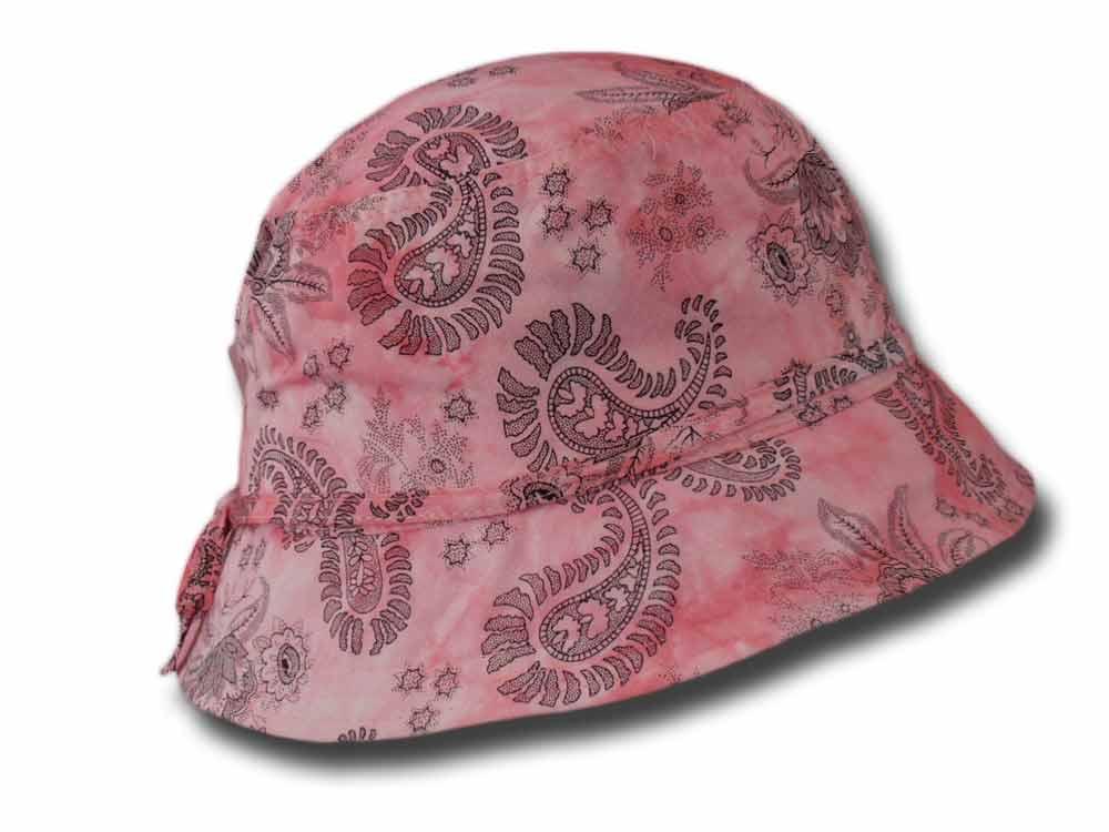 Cappello donna estivo cloche cotone Jacquard 1d35aed3da5e