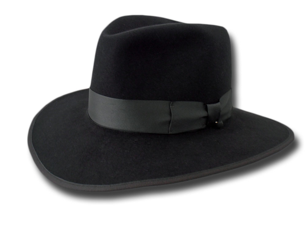 Cappello Fedora lapin Gangster