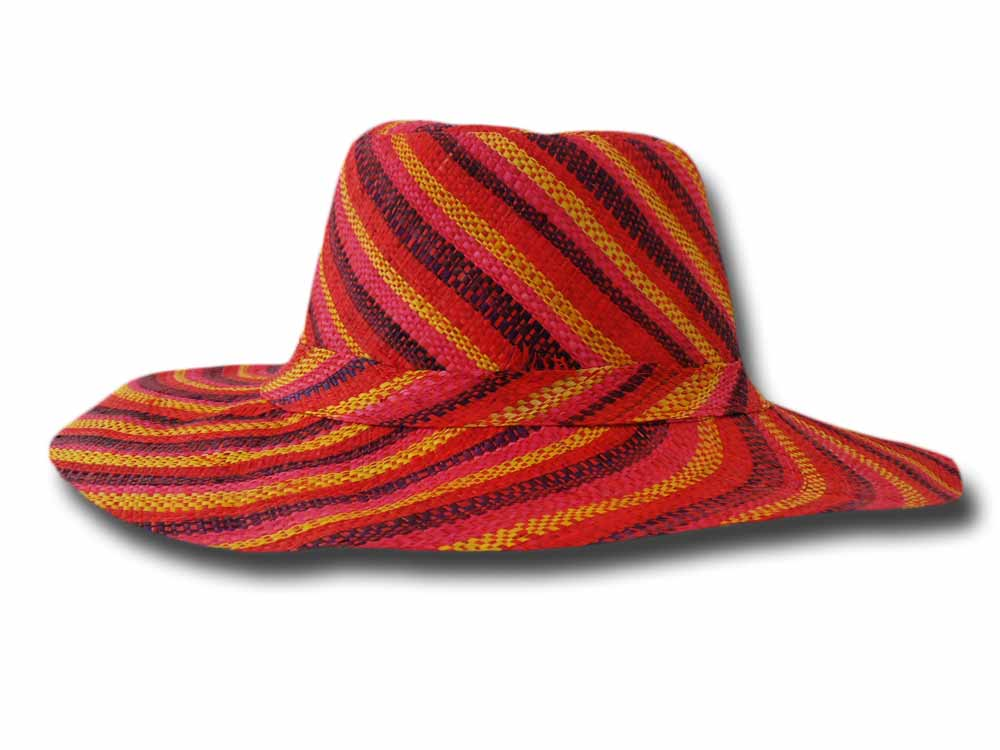 fold straw hat medium brim Monaco 12