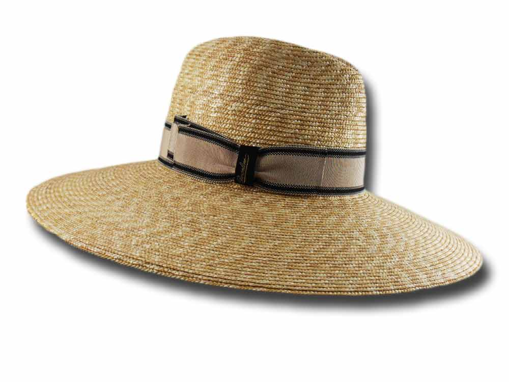 Borsalino Straw woman hat 232126 large brim