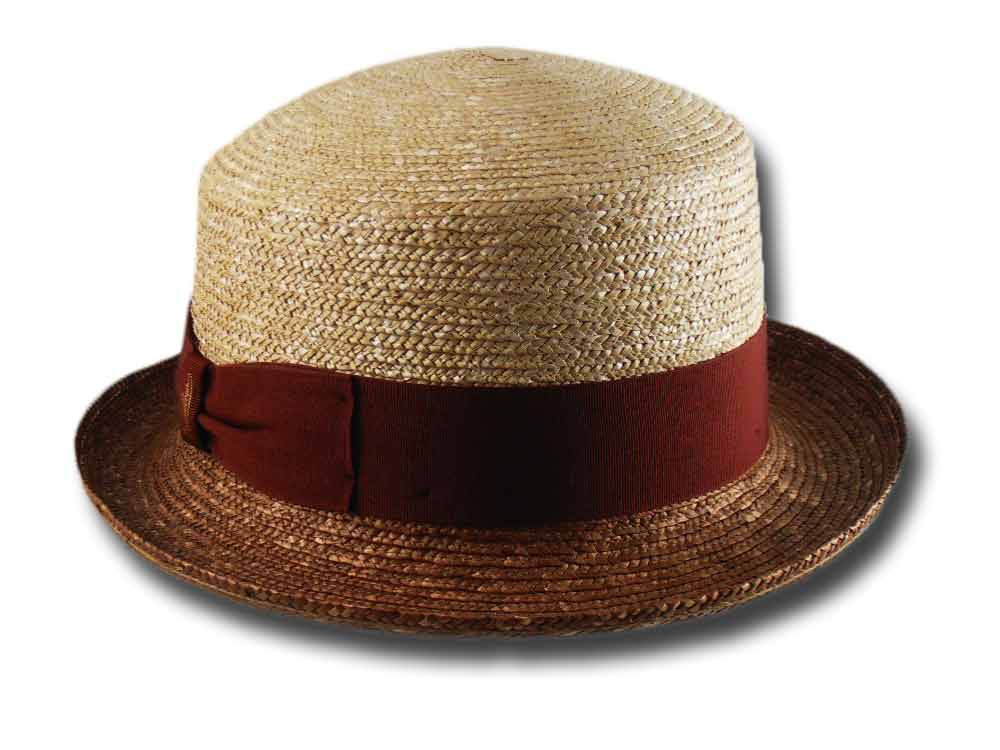 Borsalino woman straw hat two-colored 232129