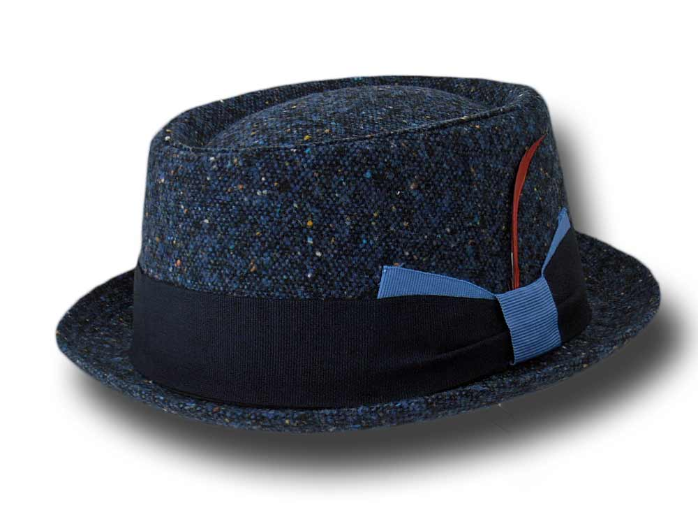 Cappello Melegari Pork Pie Twill