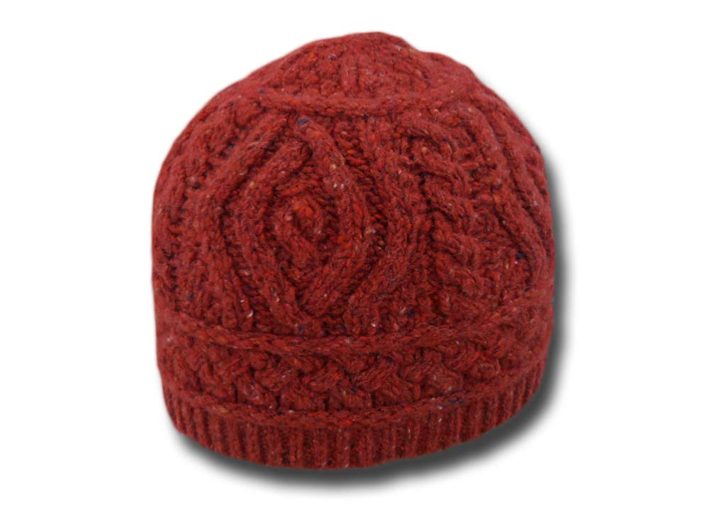 Woman Beanie wool hat Celtic
