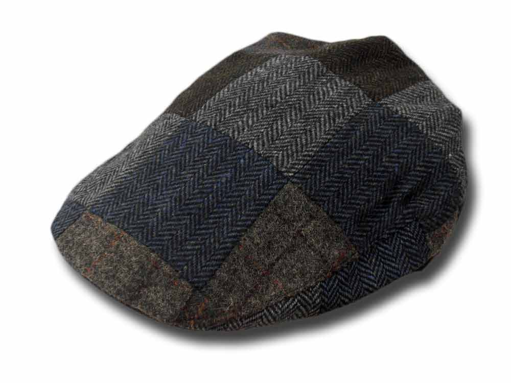 Shandon County Patch Flat Cap