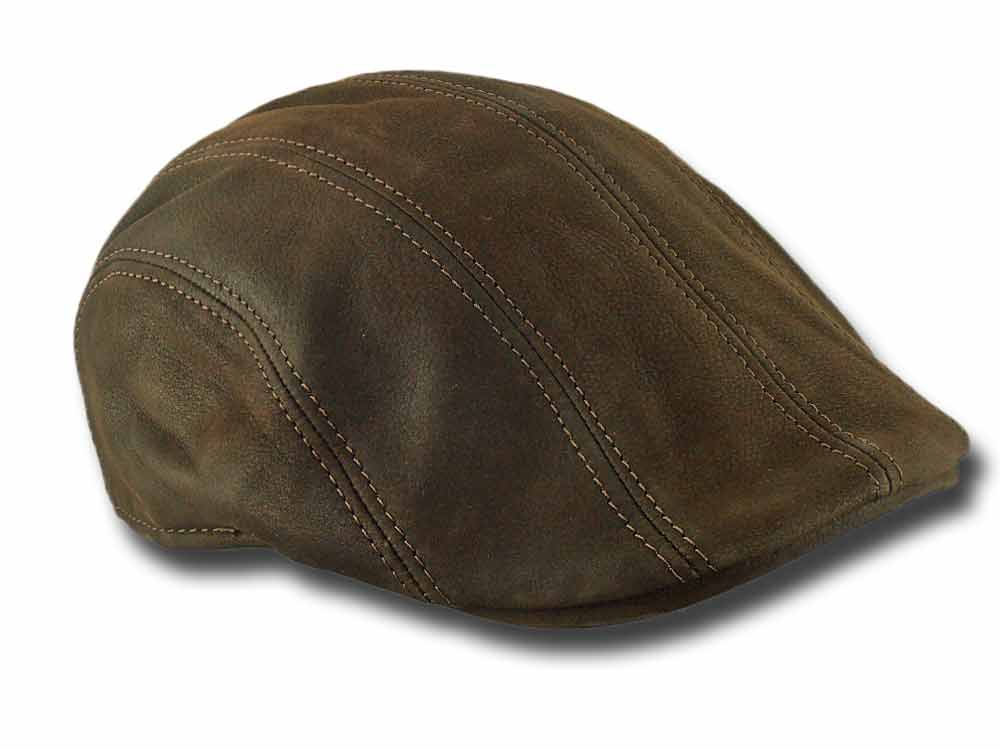 Melegari leather Cap Maddy Brown