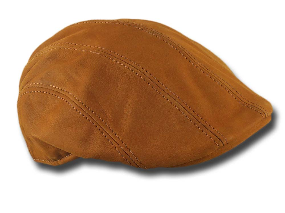 Melegari leather Cap Maddy Light brown