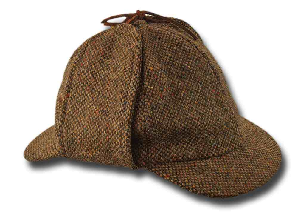 Berretto irlandese Sherlock Holmes donegal tweed Hanna Hats