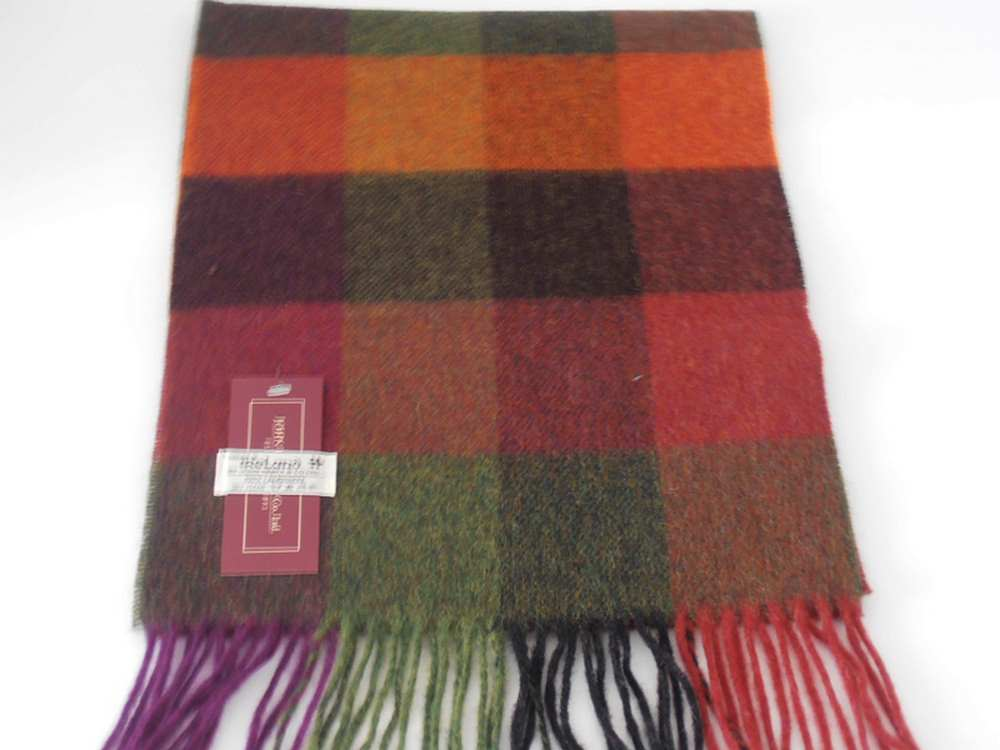 Lambswool Irish scarf J.Hanly 36