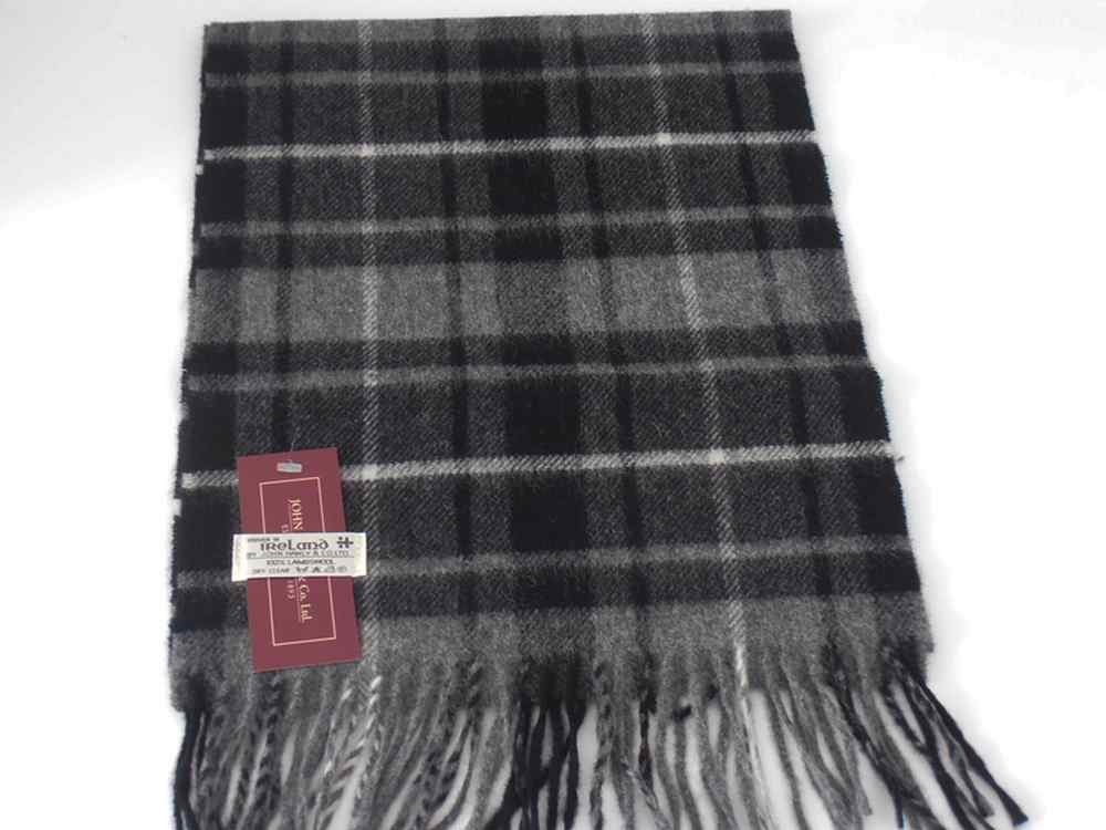 John Hanly Irish Lambswool Schal Tartan 15